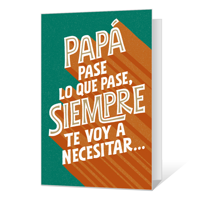 Feliz Día del Padre Father's Day Cards