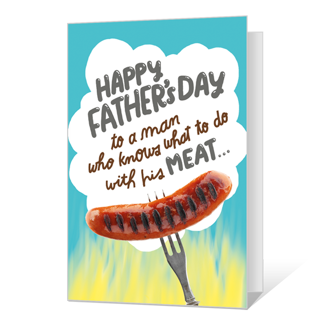 King of the Grill Father's Day Cards