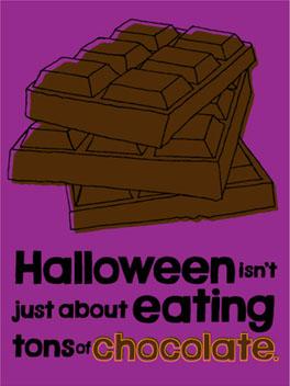Happy Choco-Day! halloween card