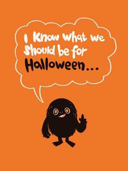 A Proposition halloween card