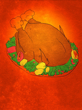 Feast Fact thanksgiving card
