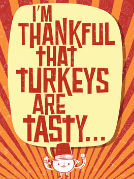Thanks, Evolution thanksgiving card