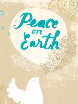 Peace! christmas card