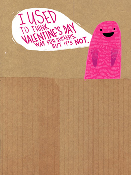 Sucker Punch valentine's day card