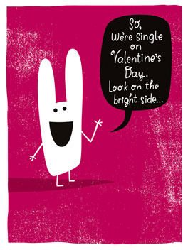 hit single valentine's day card
