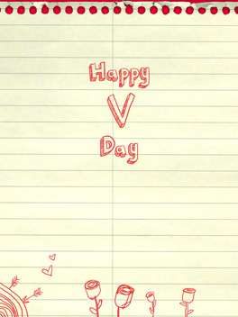 Letteriffic valentine's day card