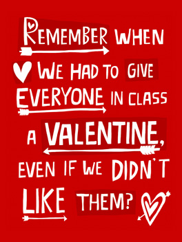 Old School Card Valentine S Day Greeting Card Justwink