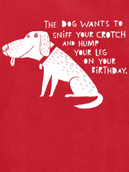 Baser Instincts birthday card