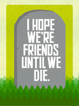 Til' Death friends rule card