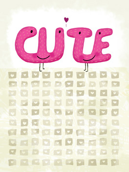 So Cute life, etc. card