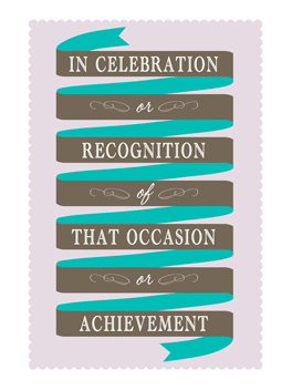 Awesome Recognition just congrats card