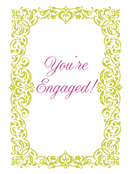 Life is Ending engaged card