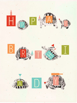 HPPAY BRTHIADY fashionably late card