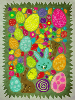 sweet tooth easter card