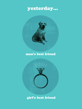 best friends the big day card