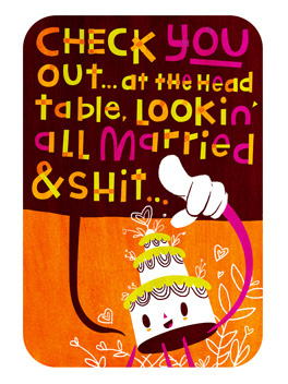 go you the big day card