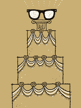 nerdly-weds the big day card