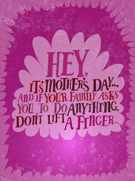 uplifting mother's day card