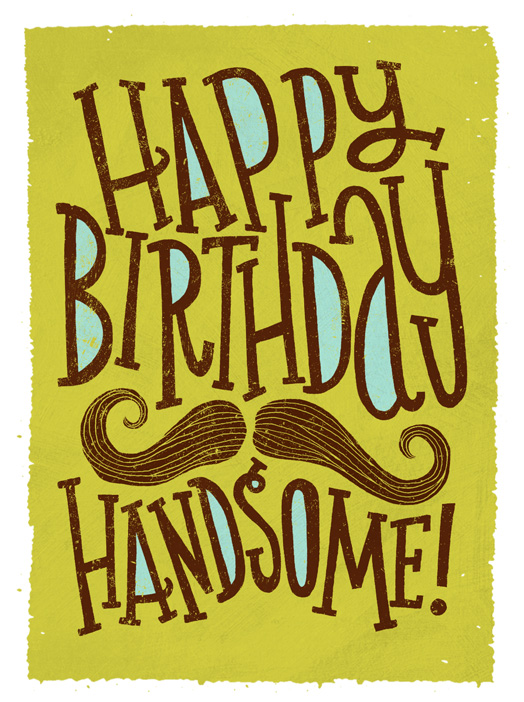 Handsome Wishes Card Birthday Greeting Card Justwink Cards