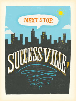 successville wish 'em luck card