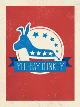 donkey shmonkey card