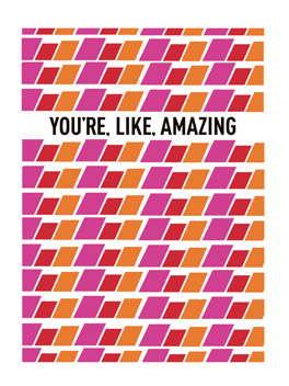 amazing you thanks card