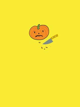 butchered halloween card