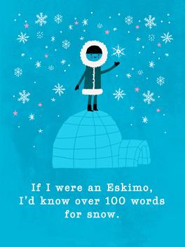 igloo love christmas card