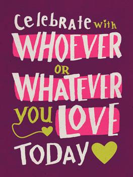 v-day wish valentine's day card