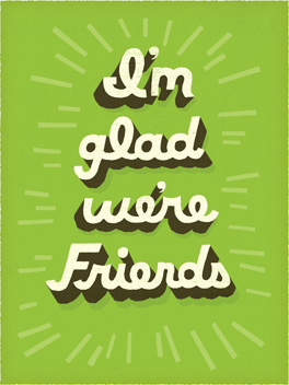 better friends friends rule card