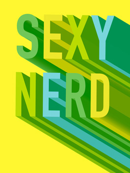 Sexy Nerd life, etc. card