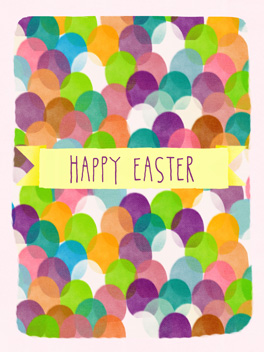 happy easter easter card
