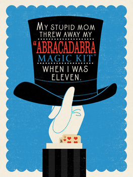 abracadabra cheer-ups card