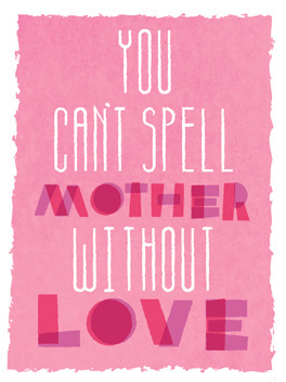 love lesson mother's day card
