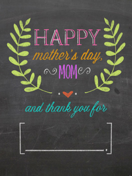 all u do mother's day card