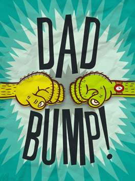 bump it father's day card
