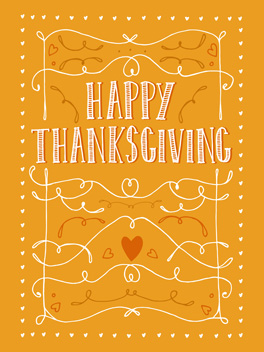 gratitude thanksgiving card