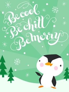 warm wishes season's greetings card