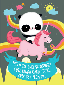 cute overload Card | Birthday Greeting Card | justWink Cards