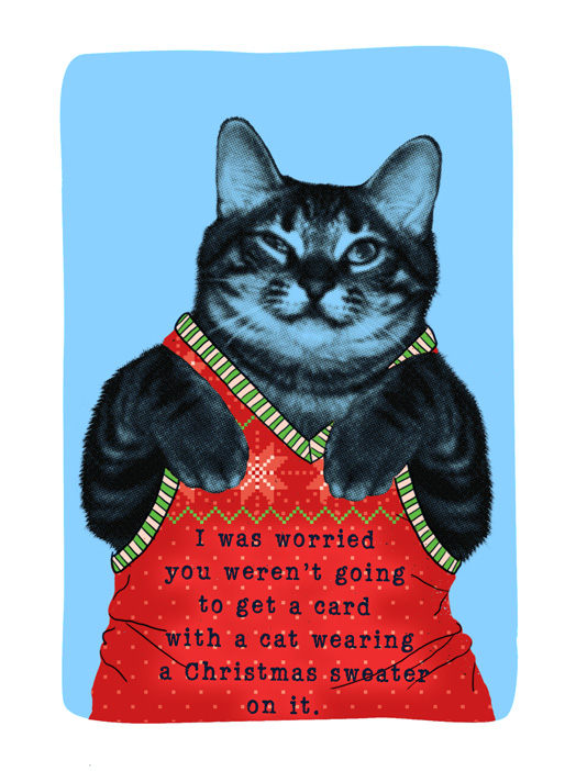 Meowy Christmas.Meowy Christmas Card Christmas Greeting Card Justwink Cards