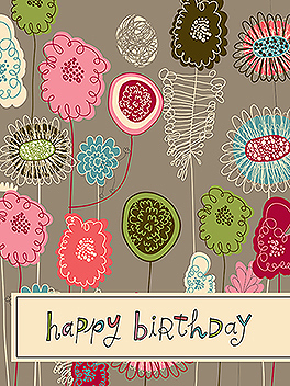 Life is Good birthday card