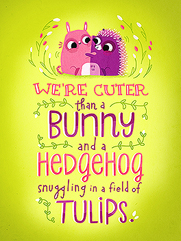 adorbs easter card