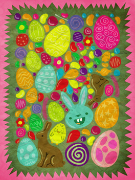 so sweet! easter card