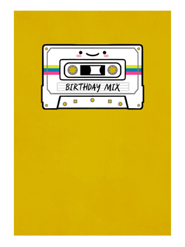 birthday mix birthday card