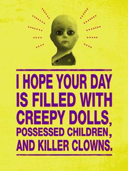 creeps halloween card