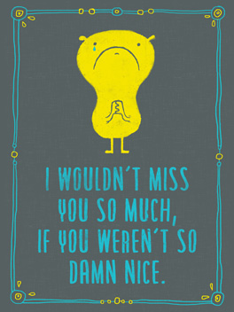 your fault miss you card
