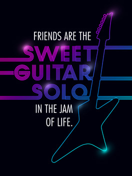guitar solo bromance card