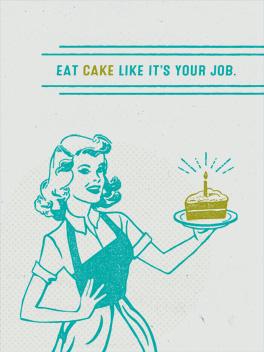 it's your job birthday card