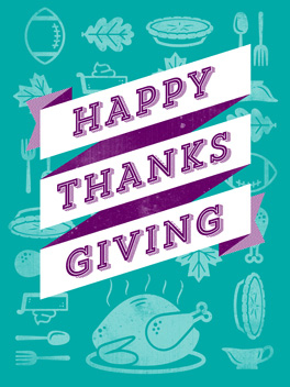 happy day thanksgiving card