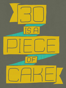 piece of cake birthday card